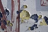 Peeling Paint on Old Wall — Stock Photo