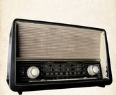 Retro Radio — Stockfoto