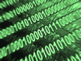 Abstract binary code — Stock Photo