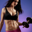 Fitness Woman — Stock Photo #2662154