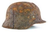 Protective helmet of the German soldier — Stock Photo