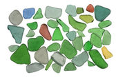 Sea glass background — Stock Photo