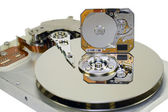 3.5 and 1 inch Hard disks — Stock Photo