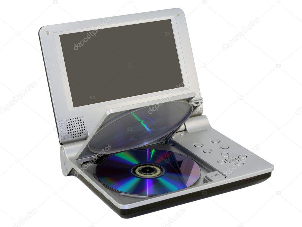 kompakt disk dvd oynat
