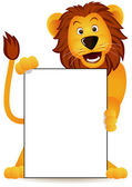 Cute lion — Stock Vector