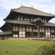Daibutsuden Todaiji temple - Nara, Japan — Stock Photo
