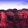 sedona red rocks — Stock Photo