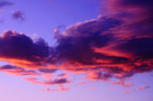 Purple and Pink Sunset — Stock Photo
