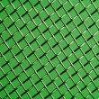 Stock Photo: Green grid