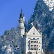 Stock Photo: Castle of Neuschwanstein, Fuessen, G