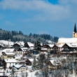 The town of Oberstaufen, Allgau, Germany - Stock Photo