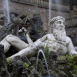 Bacus Fountain in Heidelberg — 图库照片