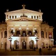 Opera House in Frankfurt, Germany - Stock Photo