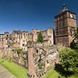 Stock Photo: Heidelberg, red Castle