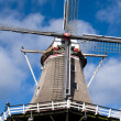 Stock Photo: Traditional Windmill in Netherlands,