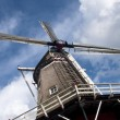 Traditional Windmill in Netherlands, — Stock Photo #2654698