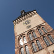 Stock Photo: Clock Tower of Speyer