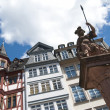 TRADITIONAL HOUSES IN THE ROEMER, FRANKFURT - Foto Stock
