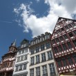 TRADITIONAL HOUSES IN THE ROEMER, FRANKFURT - Foto de Stock