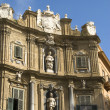 Stock Photo: Quatro Canti, Baroque Houses in Palermo