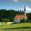 Stock Photo: Small Chapel in Bavary, Germany