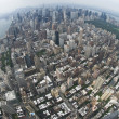 Air view New york — Stock Photo