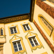 Painted House in Bad Tölz, South Germany - Stock Photo