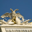 Stock Photo: Schoenbrunn Austria, Close up of double head eagle