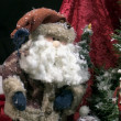 Stock fotografie: Toy SantClaus with gifts