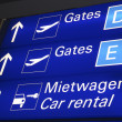 Frankfurt Airport, Gates — Stock Photo