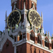 Moscow, the Kremlin tower — Stockfoto