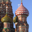 Moscow, the St. Basil Church — 图库照片