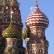 Moscow, the St. Basil Church — Foto de Stock