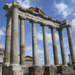 Rome: The ruins of the ancient roman forum — Photo