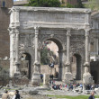 Stock Photo: Rome: ruins of ancient romforum