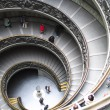 Rome, spiral stairs in the Vatican Museum - 