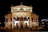 Teatro dell'opera di francoforte, germania — Foto Stock
