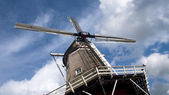 Traditional Windmill in the Netherlands, — Stock Photo