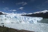 Der gletscher perito moreno in patagonien, — Stockfoto