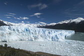 The Glacier Perito Moreno in Patagonia, — Стоковое фото