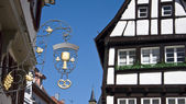 OLD GERMAN TOWN — Stock Photo