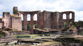 The Kaiser Thermes in Trier, Germany — Foto Stock