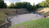 Ancient gladiator arena in Trier, Germany — Stock Photo