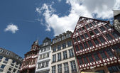TRADITIONAL HOUSES IN THE ROEMER, FRANKFURT — Zdjęcie stockowe