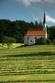 Lonely Church in Bavary — Stock Photo