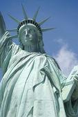 Socha svobody v new yorku — Stock fotografie