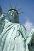 Statua wolności w nowym jorku — Zdjęcie stockowe