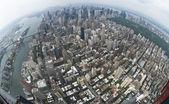 Air view New york — Stock Photo