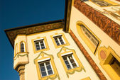 Painted House in Bad Tölz, South Germany — Стоковое фото