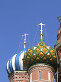Orthodox Church, cupolas — Stock Photo